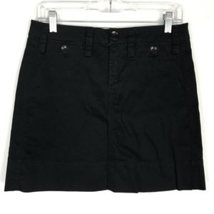 Paper Boy Anthro Black A-Line Skirt Size 4